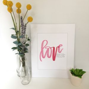 Lettering Prints