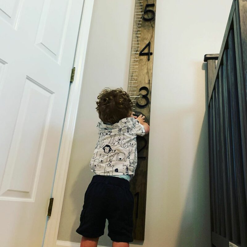 DIY Growth Chart