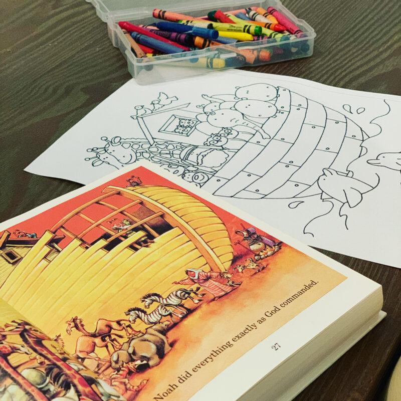 Noahs Ark Coloring